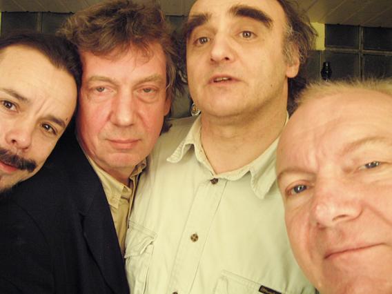 Uwe Kropinski, Johannes Bauer, Joe Sachse, Conny Bauer. - 136_photoTHEO