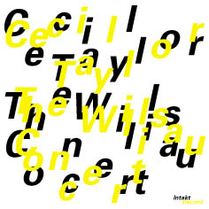 Cecil Taylor: The Willisau Concert