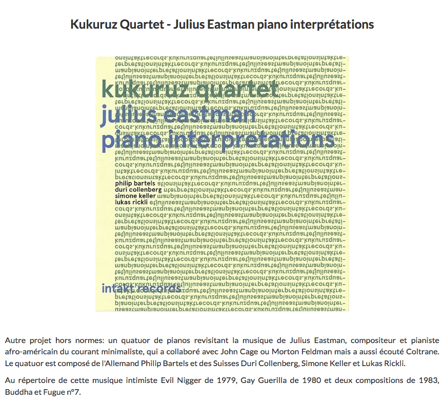 Claude loxhay reviews kukuruz quartet