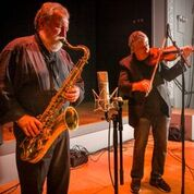 Evan Parker – Mark Feldman (by Caroline Mardok)