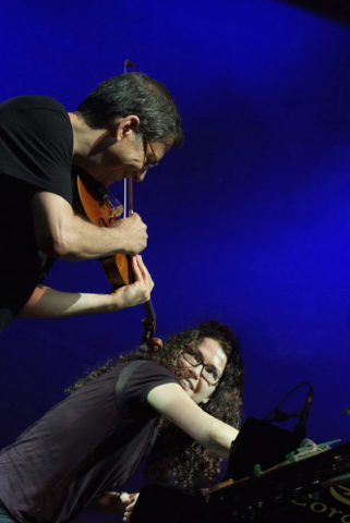 Sylvie Courvoisier – Mark Feldman (by by Roberto Cifarelli)